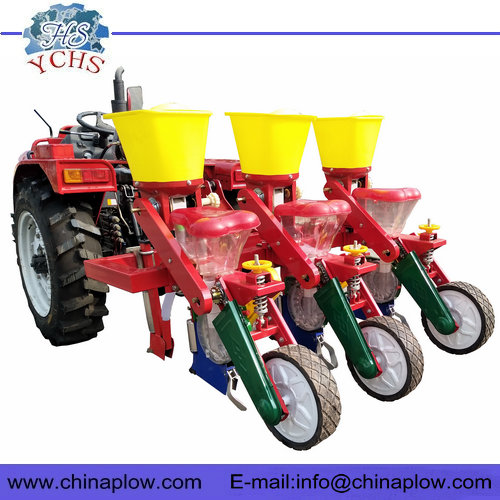Tractor corn planter corn seed planting machine