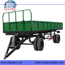 Double Axles Farm Trailer