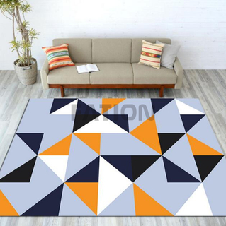5'×8' Anti-slip Non-woven Fabric Backing Print Area Kitchen Rug