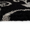 5'×8' Polyester Modern Shag Carpet Plain Area Rug