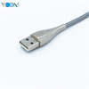 Spring iPhone USB Cable with Stainless Steel Material