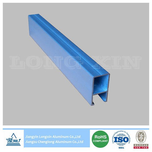 Natrual Anodized Aluminium Profile for Decoration