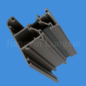 Green Powder Coated Thermal Break Aluminium Extrusion for Windows
