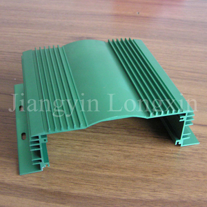 Green Anodizied Aluminium Profile for Heatsink