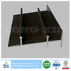 Brown Anodized Aluminum Profile for Windows and Doors