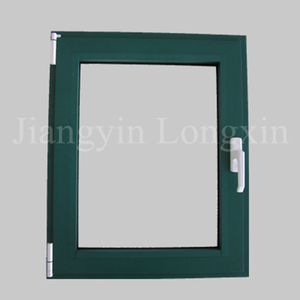 Green Powder Coating Aluminium Extrusions for Casement Window