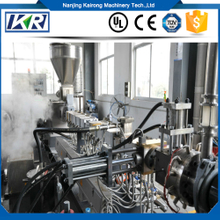 high quality PS/ABS+PP plastic compounding extruder machine