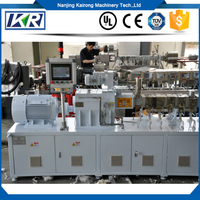 Tse Series Plastic Pellet Filler Masterbatch Twin Screw Extruder Machine Price for Pelletizer Extrusion Line