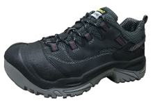 Nubuck leather pu sole sport style safety shoes