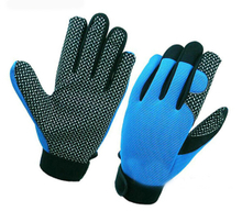 Silicone dotted slip resistant Gloves