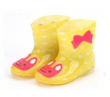 666-1 waterproof child pvc rain boots