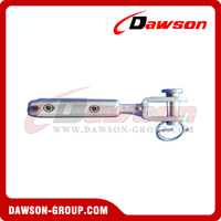 Stainless Steel Screw-On Fork Terminal For Self Assembleing