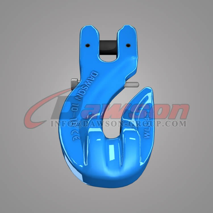 Grade 100 Special Clevis Grab Hook with Safety Pin, Clevis Grab Hook for G100 Lifting Chains - China Manufacturer, Supplier - Dawson Group Ltd.