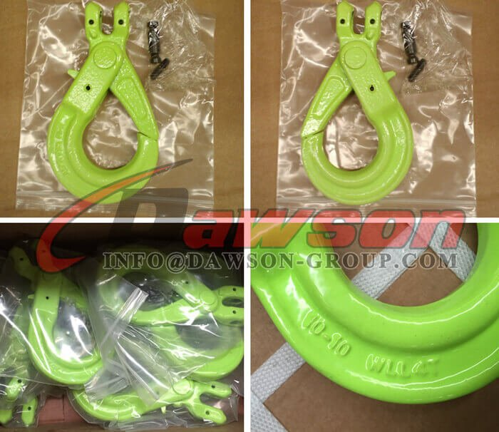 DS1006 G100 European Type Clevis Self-Locking Hook - Dawson Group Ltd. - China Manufacturer, Supplier, Factory