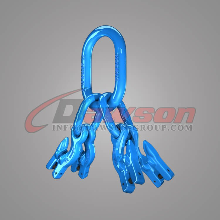 Grade 100 Master Link Assembly for Chain Slings + Grade 100 Eye Grab Hook with Clevis Attachment×4 Dawson Group Ltd. - China Manufacturer, Supplier, Factory