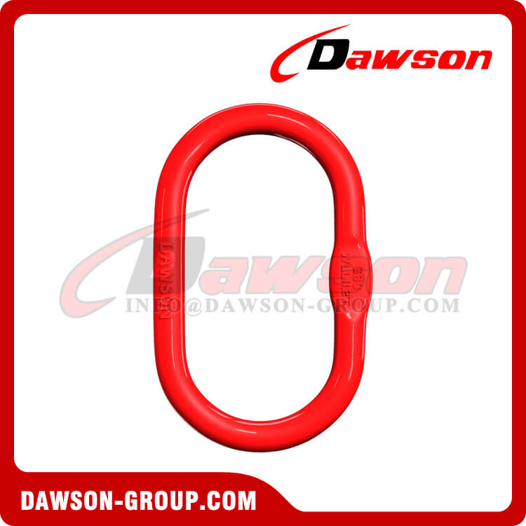 DS033 G80 European Type Master Link for Chain Lifting Slings / Wire Rope Lifting Slings