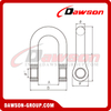 DS889 Forged Super Alloy Steel Special Type D Shackle for Lifting Chains