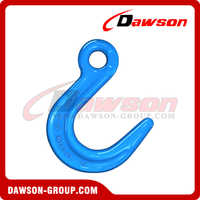 G100 / Grade 100 Forged Alloy Steel Eye Foundry Hook, Large Opening Hook