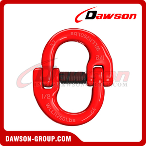 DS075 G70 / Grade US. Type Forged Alloy Steel Connecting Link for Lashing