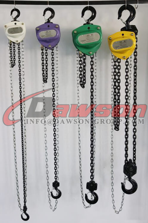 Chain Block, Chain Hoist - Dawson Group Ltd. - China Manufacturer, Supplier
