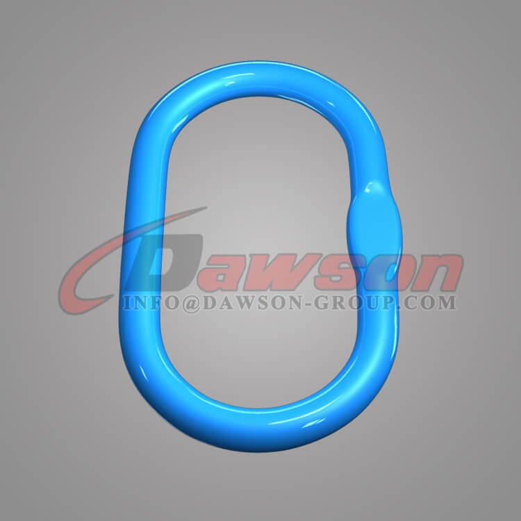 Grade 100 Forged Alloy Steel Master Link for Crane Lifting Chain Slings - China Supplier, Exporter