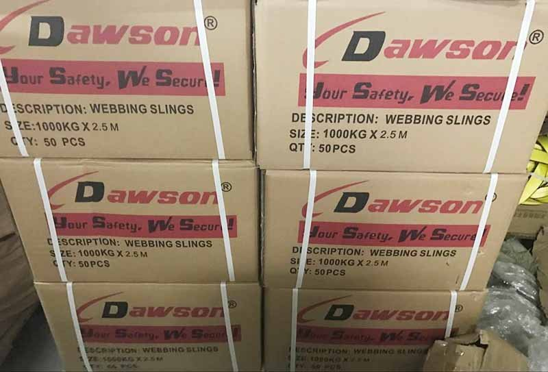 WLL 1 Ton Polyester Webbing Slings - Lifting Slings - Dawson Group Ltd. - China Supplier, Factory, Exporter
