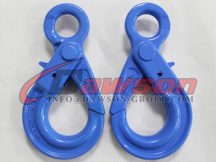 Grade 100 European Type Eye Self-Locking Hook Lifting Equipment for Crane Lifting Chain Slings - Dawson Group Ltd. - China Supplier