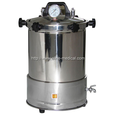 STAINLESS STEEL HANDLE STEAM PRESSURE DISINFECTOR