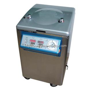STAINLESS STEEL VERTICAL STEAM PRESSURE DISINFECTOR