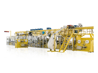 Full-Servo Control Easy Open Bag Sanitary Napkin Production Line