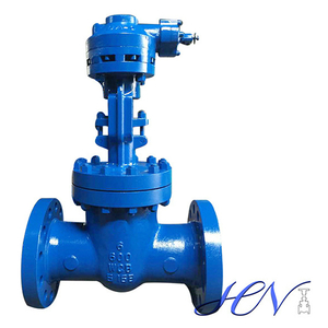 Gear Operated Flanged Flexible Wedge Gate Valve Isolation