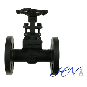 Integral Flanged Carbon Steel Gas Solid Gate Valve