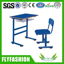 Classroom furniture melamine board study table and Chair(SF-62S)