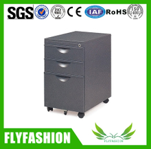 Removable Cabinet Furniture 3 doors Steel Locker Drawer Cabinet with Wheels( ST-12)