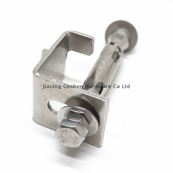 Stainless steel sleeve anchor with parts