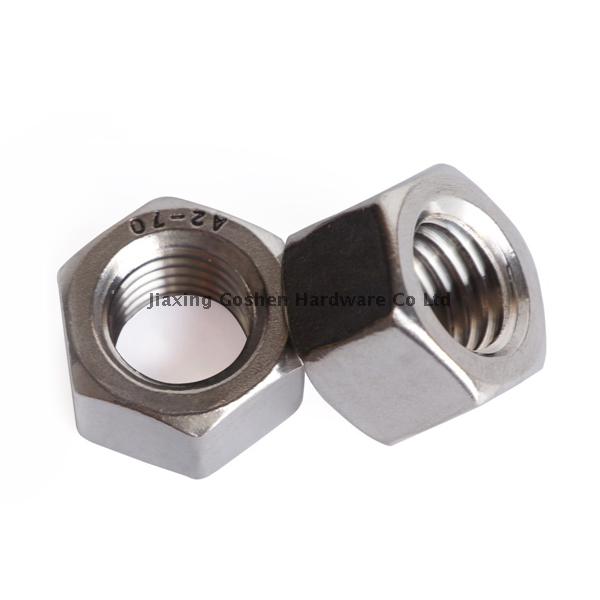 din6915 metric m24 stainless steel304 heavy hex nut