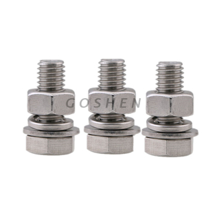SEMS Hex bolt with nut and washer M10*25mm