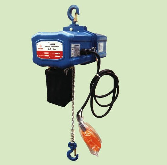 ELECTRIC CHAIN HOISTS IN 1 PHASE