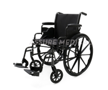 YJ-K301-1 Steel Manual Wheelchair