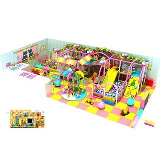 Candy Theme Mini Indoor Playground & Party Palace for Kids