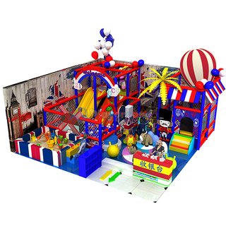 Colorful Small Soft Indoor Playground with Ball Pit and Sand Pit