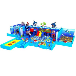 Ocean Theme Custom Children Amusement Park Small Soft Indoor Playground
