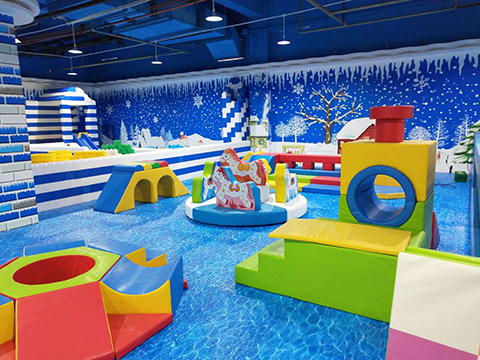 soft kids indoor playground equipment