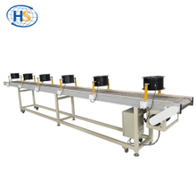 Belt Conveyor with Air-cooling Fan in Plastic Extrusion Line