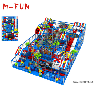 Soft foam indoor playground