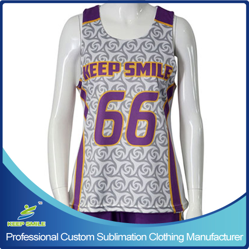 Custom Made Sublimation Printing Girl's Lacrosse Suit
