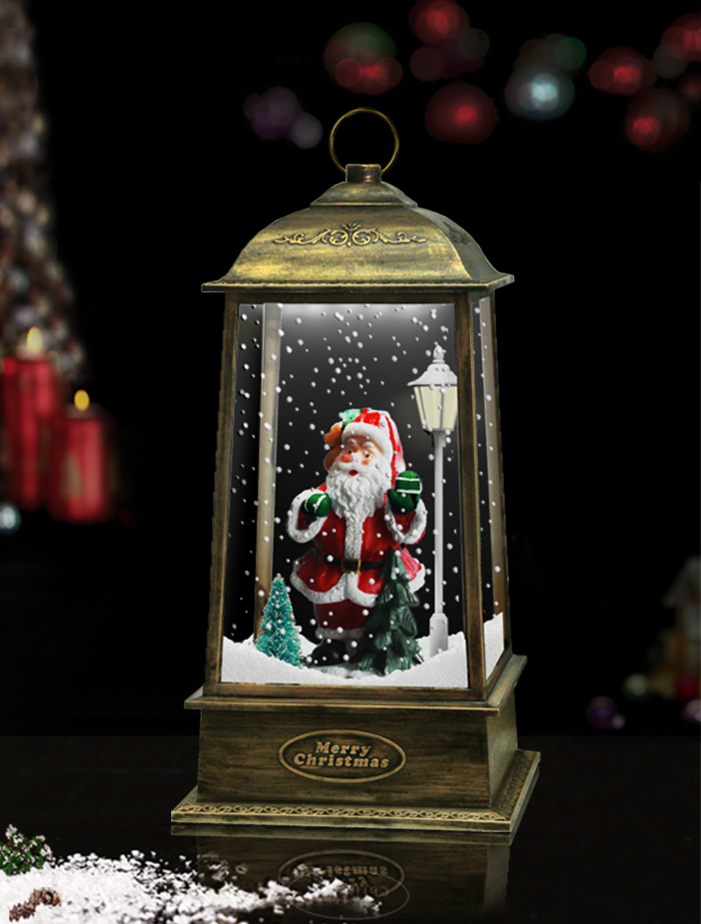 Retro Style New Product - Antique Snowing Lantern