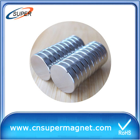 Wholesale Promotional Hard Permanent Neodymium Magnetic Disc