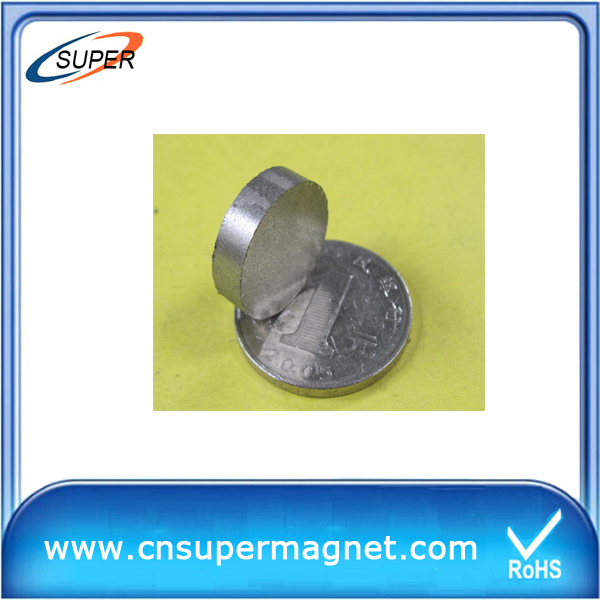 2015 Popular D8*3mm SmCo Permanent Magnet