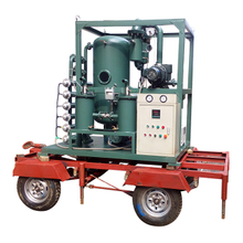 Series ZYD-I-S Trailer Equipped Open Type Vacuum Transformer Oil Regeneration System